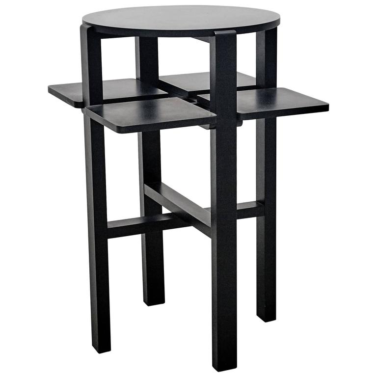 charles rennie mackintosh domino side table at 1stdibs. Black Bedroom Furniture Sets. Home Design Ideas