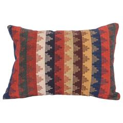 Pillow Made Out of a Late 19th Century South Persian Kilim Fragment