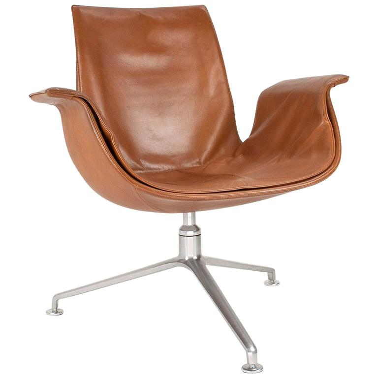J 248 Rgen Kastholm And Preben Fabricius Fk 6727 Lounge Chair