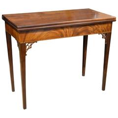 18th Century Mahogany Tea Table