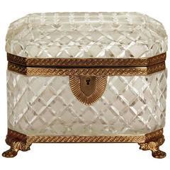 Antique Baccarat Jewel Box