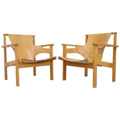"Pair of ""Trienna"" Easy Chairs by Carl-Axel Acking, 1950s"
