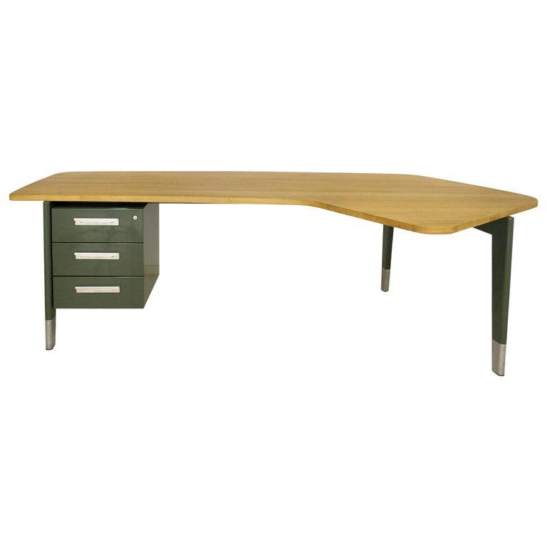 """Jean Prouvé """"Presidence"""" Desk, 2015, France"""