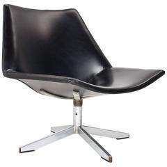 1960 Dutch Very Rare Salomonson & Tempelman Swivel Lounge Chair for AP Originals