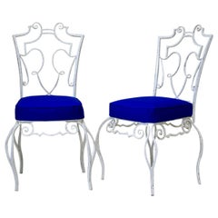 Set of Four 1940s Chairs Attributed to Jean-Charles Moreux