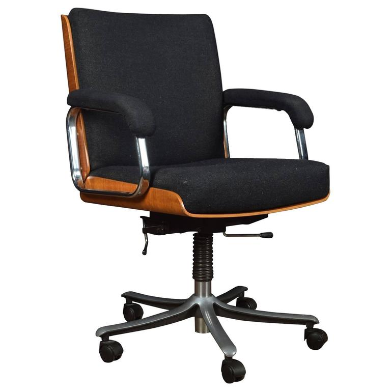 eames style swivel office chair for sale at 1stdibs