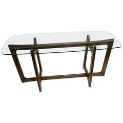 Unusual Adrian Pearsall for Craft Associates Tall Side Table