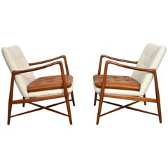 Pair of Finn Juhl Fireplace Lounge Chairs