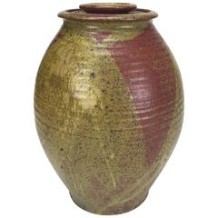 Lidded Stoneware Jar, Archie Bray Foundation under Ken Ferguson, 1958-1964