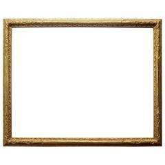 Large Carved Gilt Frame