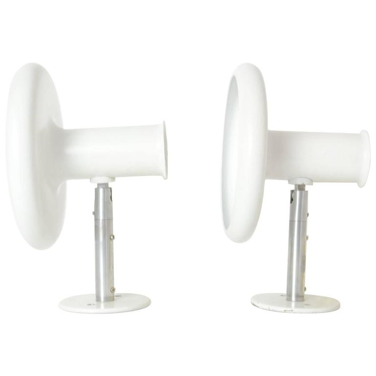 Pair of 'Optima' Articulating Wall Sconces by Hans Due for Fog & Mørup For Sale