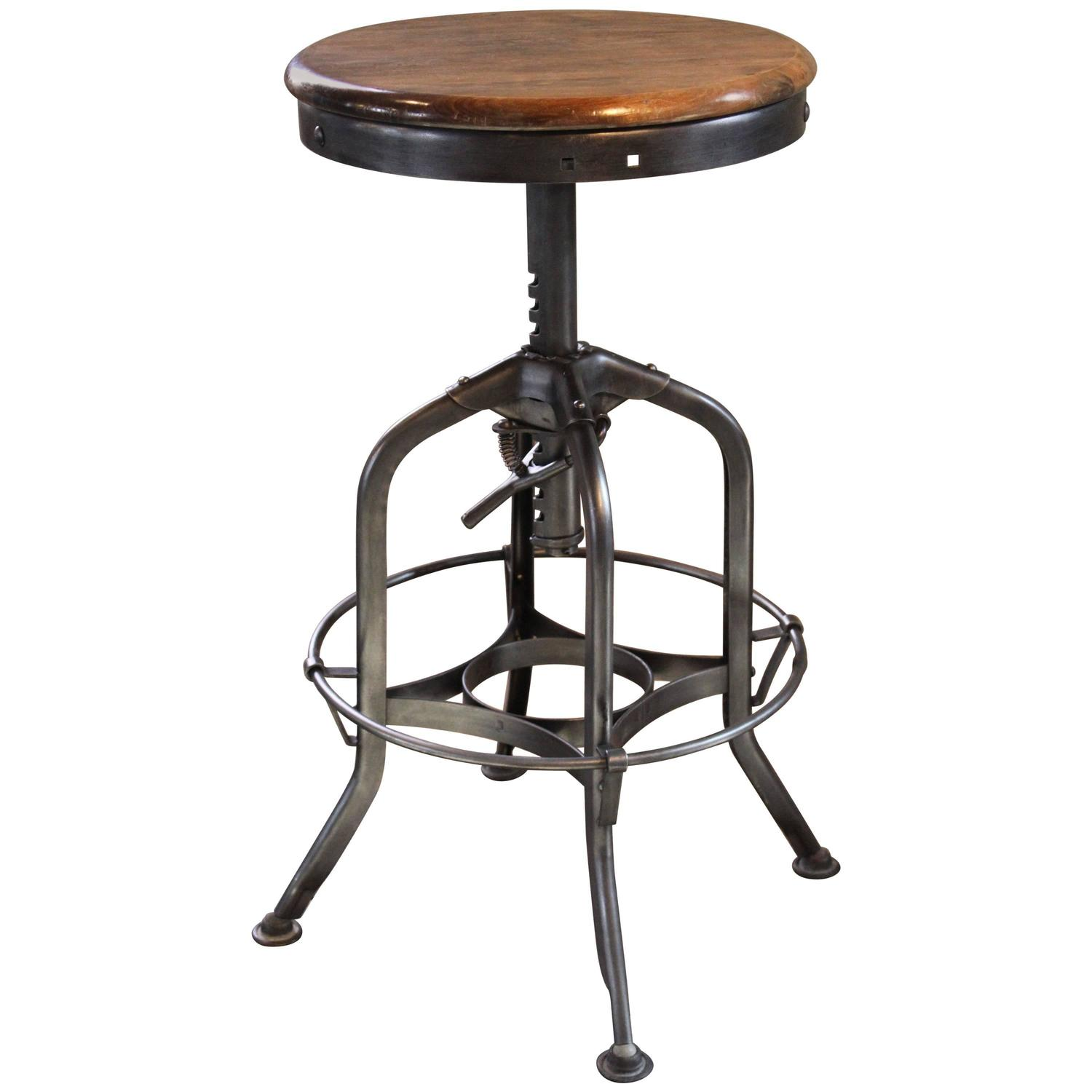 stools saddle stool p swivel backless gray non rustic bar hillsdale ottomans furniture