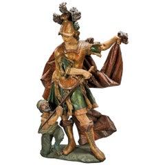 'San Martin de Tours' Sculpture