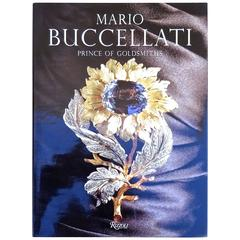 "Rare ""Mario Buccellatti Prince of Goldsmiths"" Book, 1998, First Edition"
