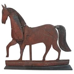 Folk Art 19th Century Horse Weathervane
