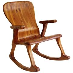 Victor Klassen Rocking Chair, Circa 1970