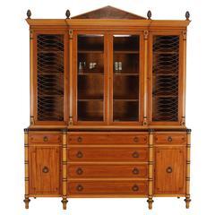 Kittinger Neoclassical Style Breakfront Bookcase