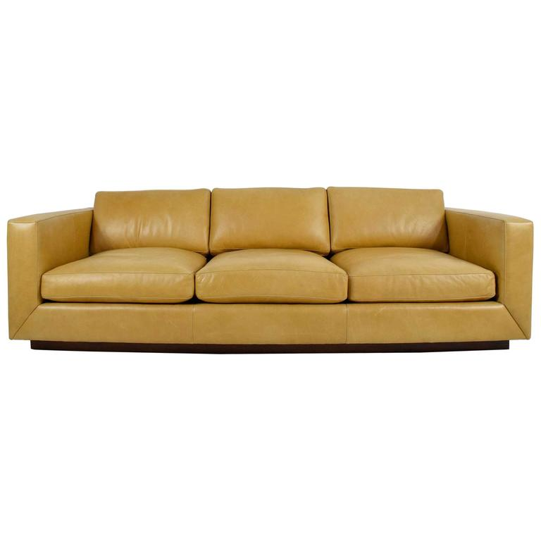 Leather Sofa By Jonathan Adler At 1stdibs