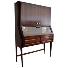 Ico Parisi Rosewood Cabinet or Dry Bar, 1948
