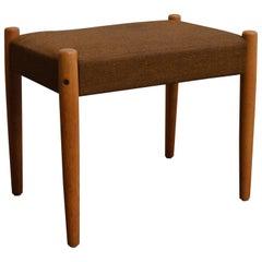 Danish Mid-Century Modern Bench or Footstool