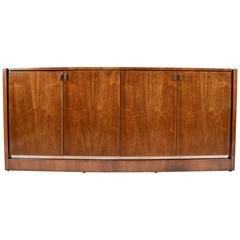 Mid-Century Modern Walnut Credenza by Founders