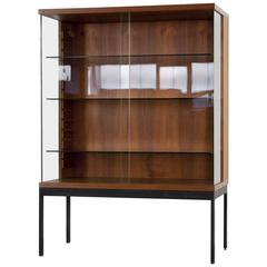 Teak Showcase Display by Dieter Weackerlin for Behr Möbel, 1958