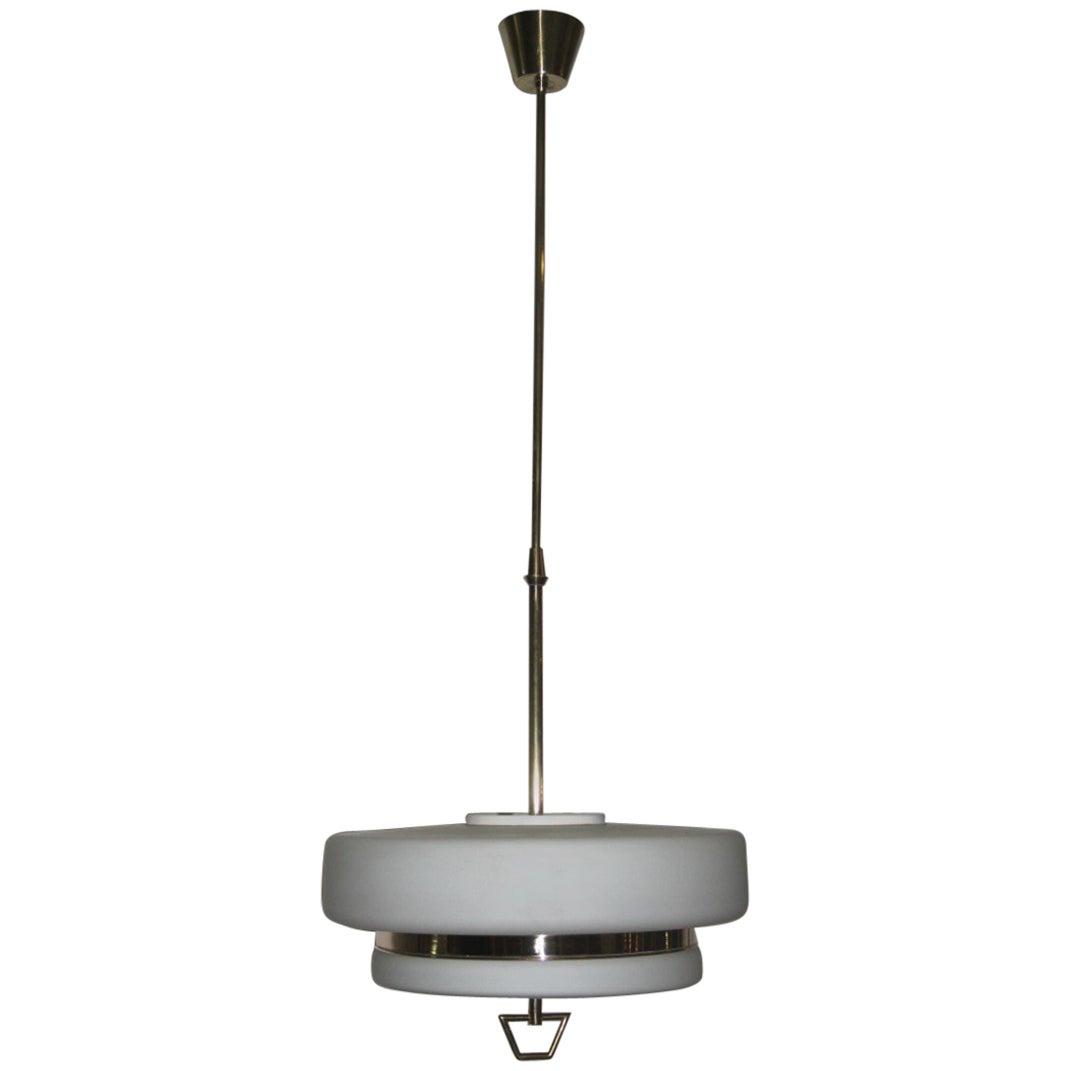 Italian Mid-Century Ceiling Lamp Stilnovo Design