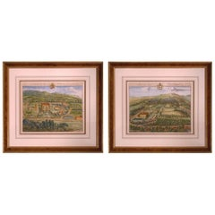 18th Century Country Seats Prints by Johannes Kip