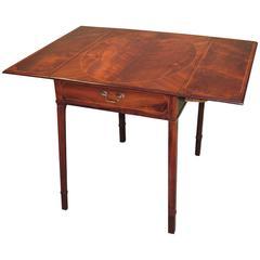 Mid-18th Century Mahogany and Palisander Pembroke Table