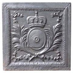 19th Century 'Arms of France' Fireback