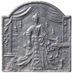 18th Century 'Marie Leszczyńska' Fireback
