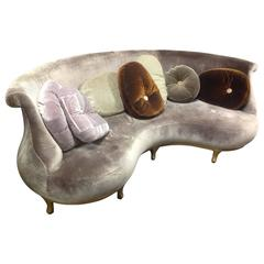"Nigel Coates, ""Buttoned Plump"" Sofa, Prototype, Produced by Fratelli Boffi Italy"