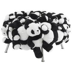 Fernando & Humberto Campana, Panda Pouf, Stuffed Animals, Canvas, Steel, 2010