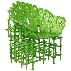 """Chris Schanck, """"Alufoil (Shell Chair)"""", 2016"""