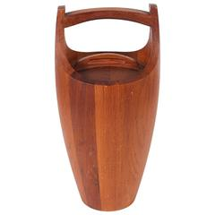 Vintage Teak Ice Bucket Designed by Jens Quistgaard