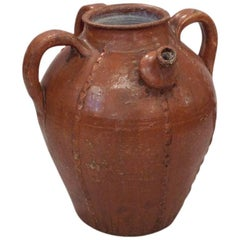 French Terracotta Water Jar, 19th Century