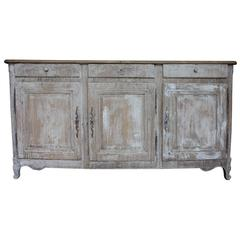 Painted 19th Century French Enfilade or Sideboard