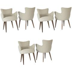 Set of 14 Aube Chairs, by Bourgeois Boheme Atelier