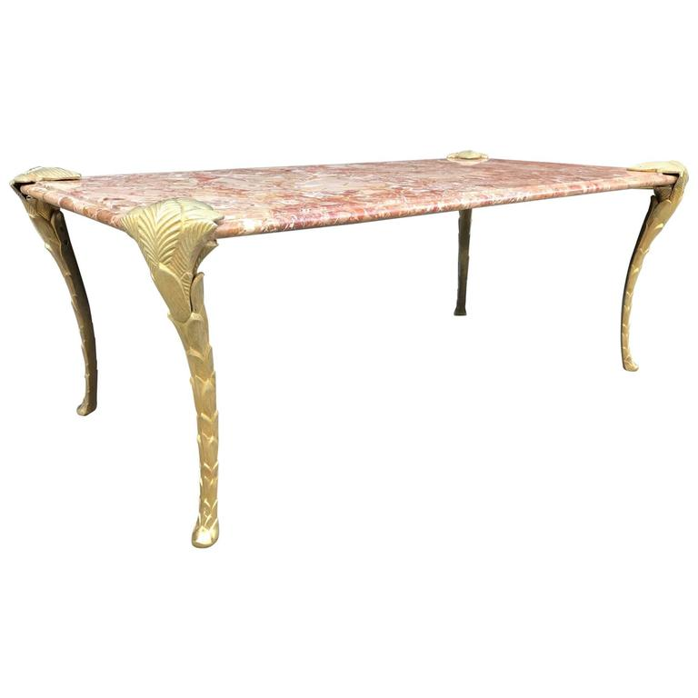 Klein Marble Coffee Table: Table Monogol By Yves Klein At 1stdibs