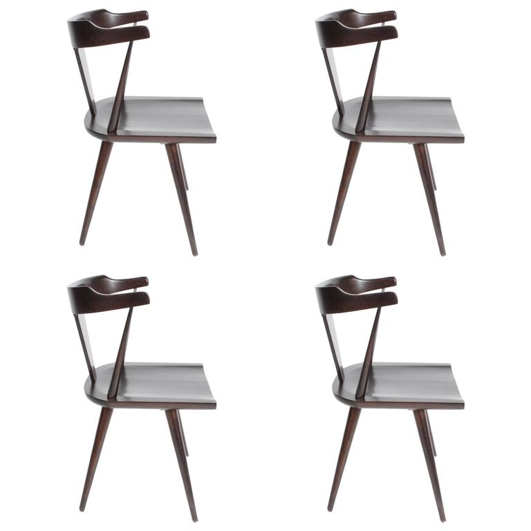 Set of Four Paul McCobb Planner Group Dining Chairs