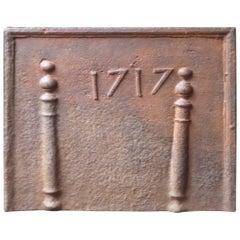 18th Century 'Pillars of Hercules' Fireback