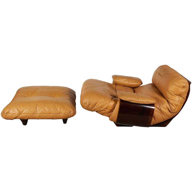 Michel Ducaroy \'Marsala\' Lounge Chair with Ottoman for Ligne Roset ...