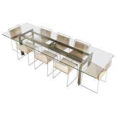 """""""Doge"""" Table by Carlo Scarpa for Simon, 1968"""