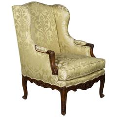 19th Century Louis XV Style French Bergere