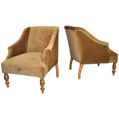 Biedermeier Attributed Pair of Chairs