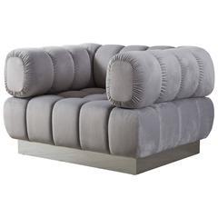 Todd Merrill Custom Originals Tufted Club Chair