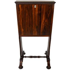 19th Century Brazilian Rosewood Secretaire a Abattant