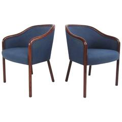 Pair of Mid-Century Modern Rosewood Side Chairs