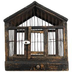 Folk Art Bird Cage