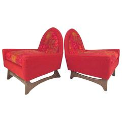 Pair of Mid-Century Modern Adrian Pearsall Lounge Chairs